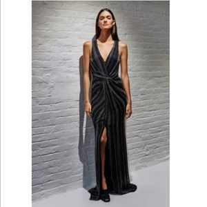 Parker Black Gown. New w all tags attached! Size 4